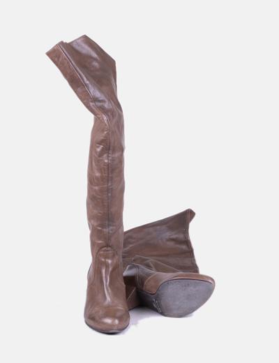 Botas altas con tacon