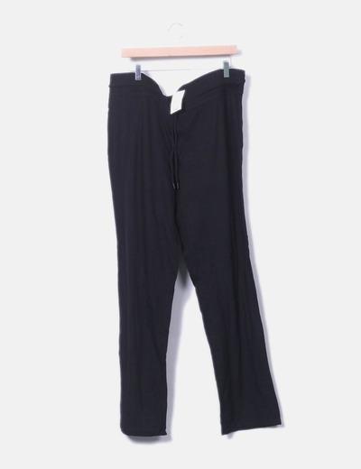 nuevo estilo de 2019 Promoción de ventas precio loco Pantalón sport negro