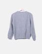 Gray knit sweater Cortefiel