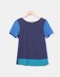 Camiseta tricolor Zara