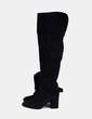 Botas negras de ante Zara