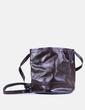 Bolso saco marrón Zara