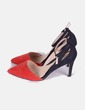 Zapato salón bicolor  Lefties