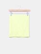 Mini falda amarilla de encaje Suiteblanco