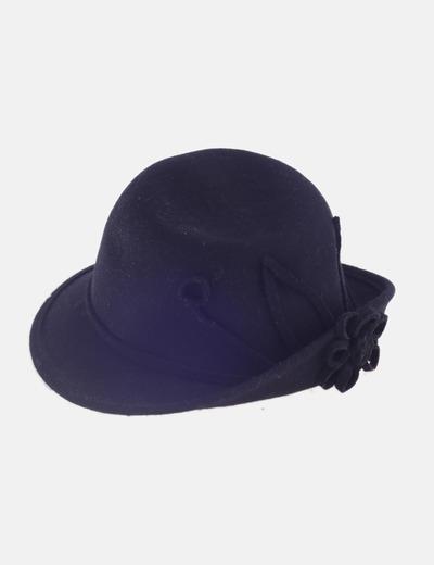 Sombrero negro lana