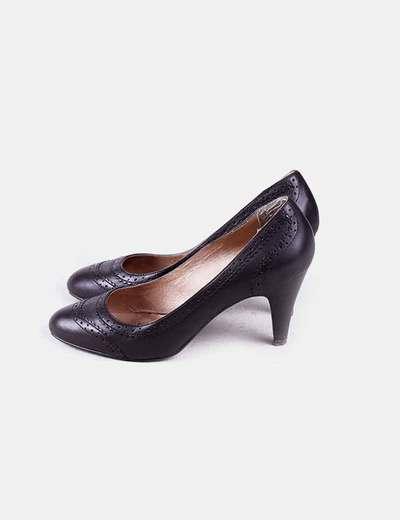 Zapato punta redonda