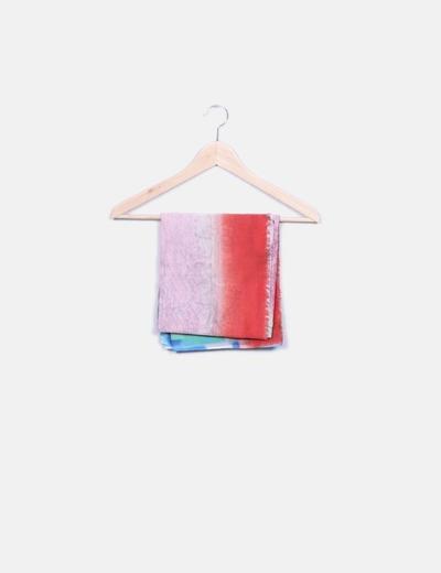Pañuelo estampado multicolor Minimil