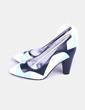 Zapatos heels primrose tricolor azul claro YULL