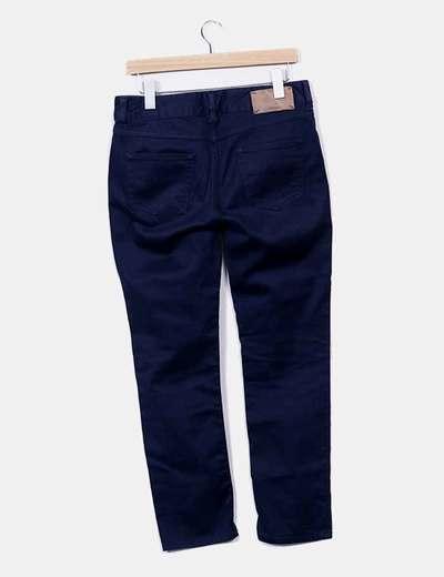 Pantalon azul marino pitilllo