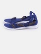 Sandales bleu marine avec strass Suiteblanco