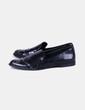 Zapato negro con tachas Zara
