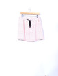 Mini-jupe blanche et rose imprimé Promod