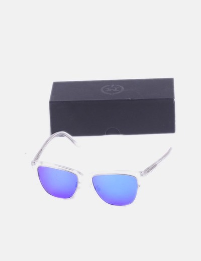Sol Gafas Montura De Con Transparente nwO0Pk