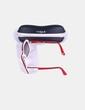 Gafas de sol montura blanca y roja Vogue