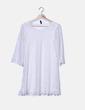 Vestido blanco crochet H&M