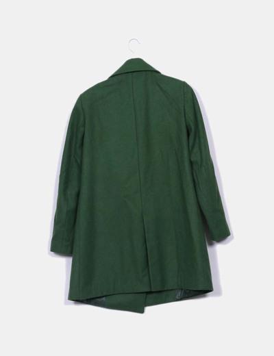 Abrigo zara verde