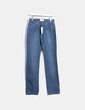 Jeans denim costuras verdes  Tintoretto