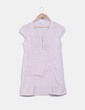 Blusa rosa palo con  bordados Lefties