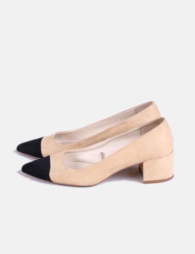 En Acabado Bicolor Zapato 71Micolet Puntadescuento Zara EIbeD2WH9Y