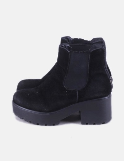 Black ankle boots track NoName