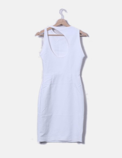Micolet Nu Blanche 69 Zara Dos réduction Robe pYqxtw7