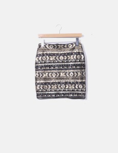 55ad269fed Mini falda pailettes Sfera