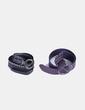 Conjunto cinturones anchos morado y negro NoName
