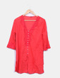 Camisola roja con botones Tex Woman
