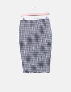 Printed pencil skirt Springfield 96184706a18a