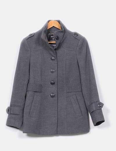 Abrigo corto gris marengo  Atmosphere
