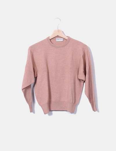Jersey rosa de manga larga Burberrys