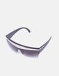 Gafas de sol cristal negro detalle metalizado NoName