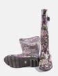 Bota de agua marón print floral Gioseppo
