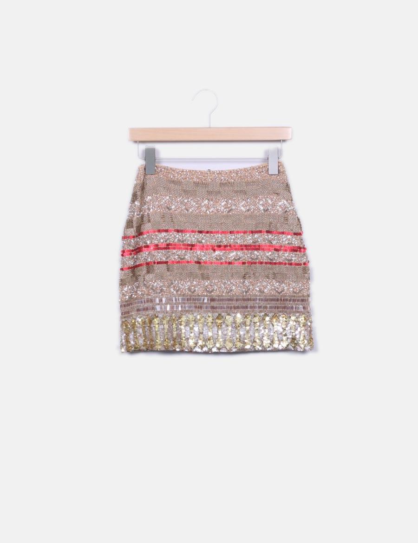 Minifalda baratas de NoName online pedrería Faldas wAfw671q ... 9cbba60ef805