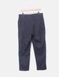 Pantalón chino gris oscuro dobladillo Mango