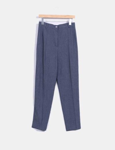 Pantalón de vestir gris  Mercedes Fuentes