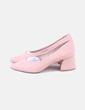 Zapato rosa tacón bajo Shif Store