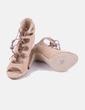 Sandalia marrón con cuerdas Zendra