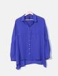 Blusa azul Mango