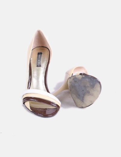 8dc33c99f0f9c Roberto Botella Combined beige patent leather sandals (discount 88%) -  Micolet