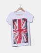 Camiseta print bandera Zara