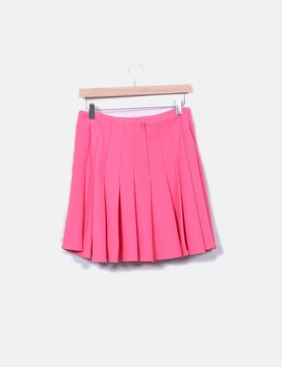 amplia selección nuevo producto venta en línea Minifalda rosa tablas