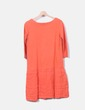 Vestido naranja Uterqüe