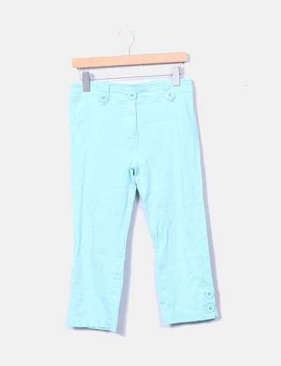 Pantalón azul pirata detalle botones Sinéquanone