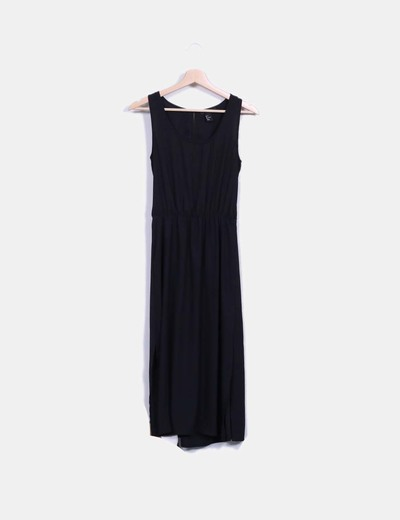 Robe noire à double ouverture H&M