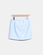 Minifalda azul de polipiel Atmosphere