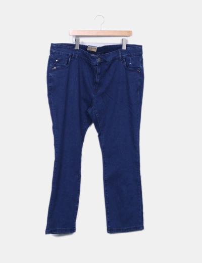 Pantalon denim recto Kiabi