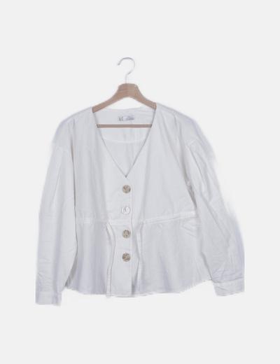 Blusa pana blanca