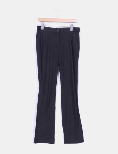Pantalón negro de pinzas Pastelle