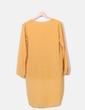 Mustard blouse tail hem NoName